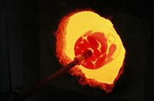 ガラス工芸は、炎から生まれるアート